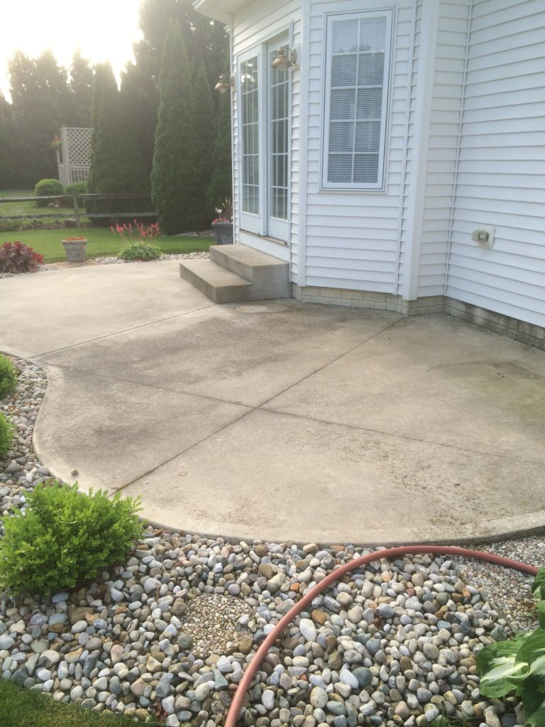 anderson pressure washing concrete cleaning bowling green Ohio