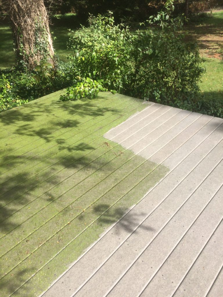 Anderson pressure washing composite deck cleaning bowling green ohio