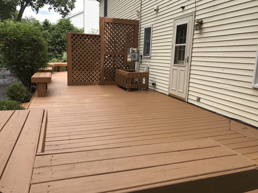 anderson pressure washing deck sealing sylvania ohio